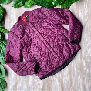 Nike Sportswear Quilted Bomber Jacket Purple Med